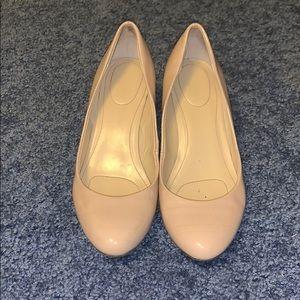 Calvin Klein Closed-toe wedge heels